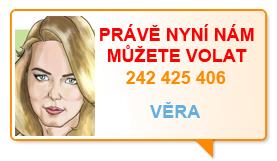 Právě nyní nám můžete volat na 242 425 406.